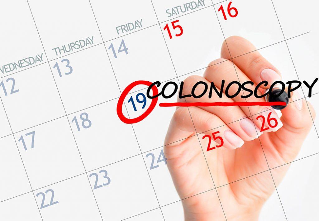 Your first colonoscopy